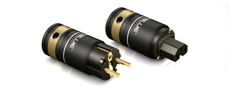VIABLUE™ T6s power plugs CEE 7/7 and IEC C15