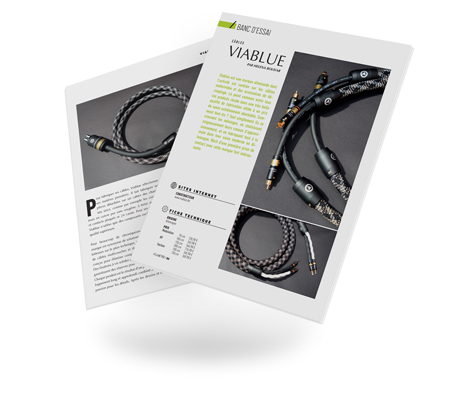 VIABLUE™ Test Vumetre SC-6 speaker cable / NF-S6 analog cable / X-60 power cable